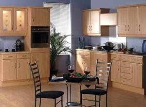 Tủ bếp gỗ veneer xoan đào gia lai 14