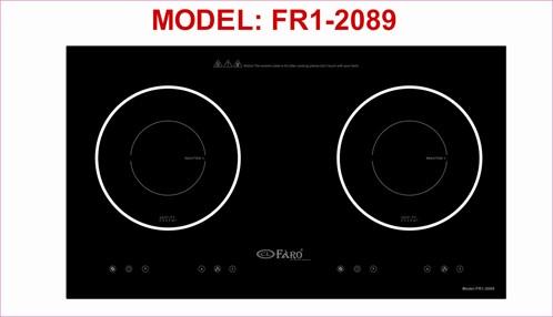 Bếp từ âm kính Faro Fr1-2089