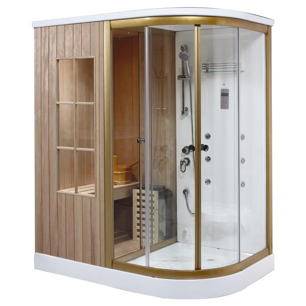 Phòng xông hơi khô kết hợp ướt Daros HT 02