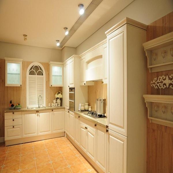 Tủ bếp gỗ CN MDF phủ veernia