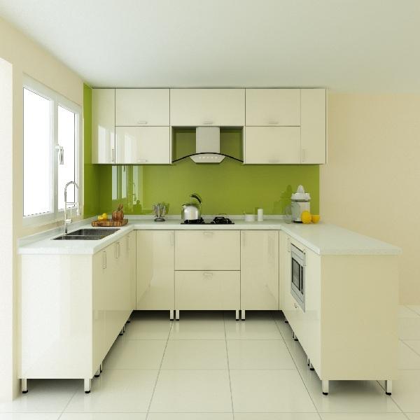 Tủ bếp gỗ CN MDF sơn PU